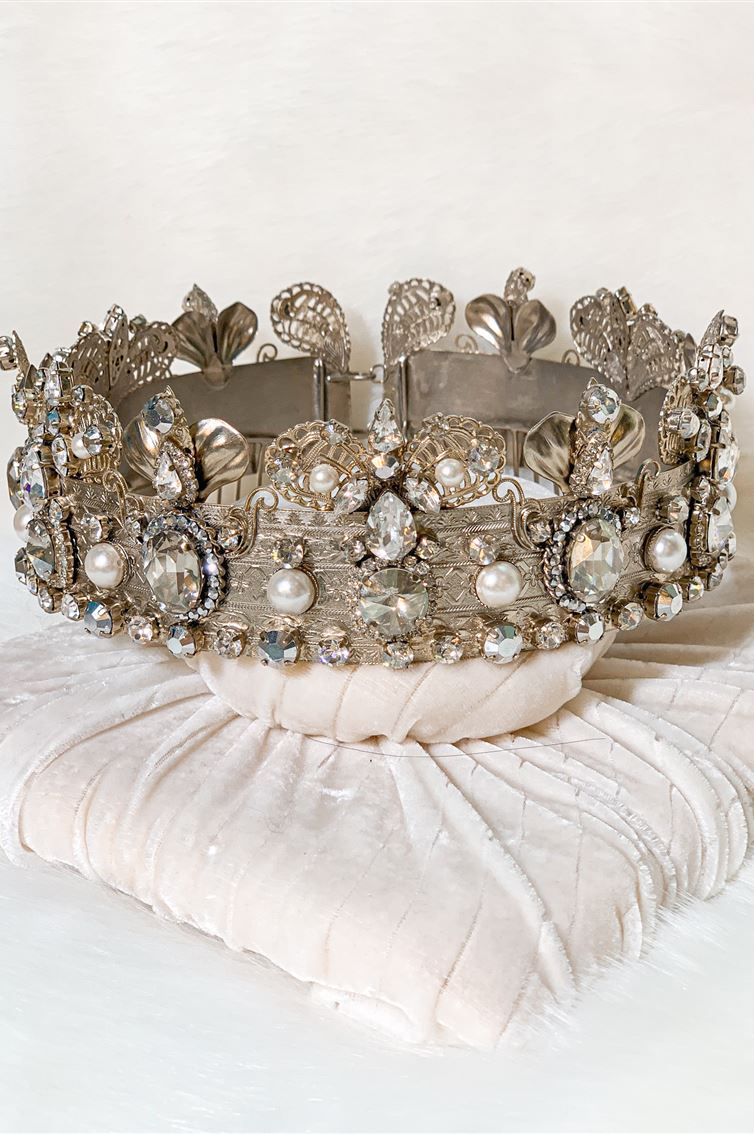 BAROQUE QUEEN CROWN