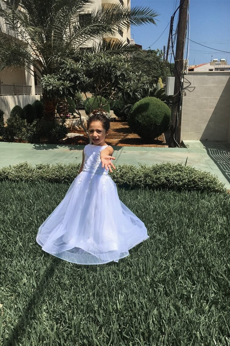 BABY - GABRIELLA - FLOWER GIRL - BOAT CUT - PRINCESS CUT