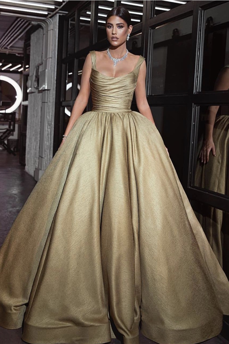 CORSET - SQUARE CUT  -PRINCESS GOWN